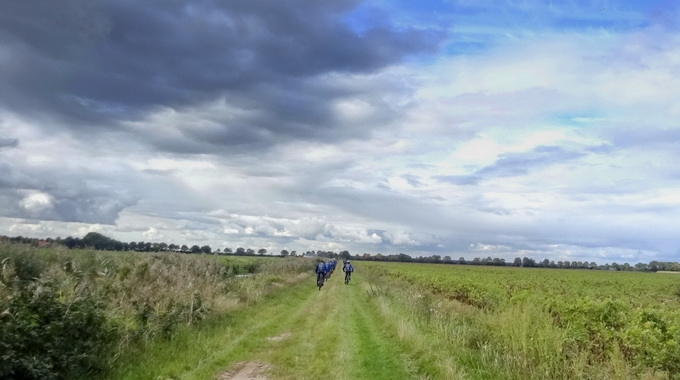 Foto's van de ATB tocht op 08-10-2016 naar Tunxdorf