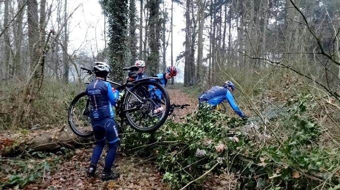 Foto's 10-12-2016 van de tocht naar Smeerling