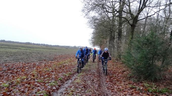 Foto's van 24-12-2016 van de tocht vanuit Borger