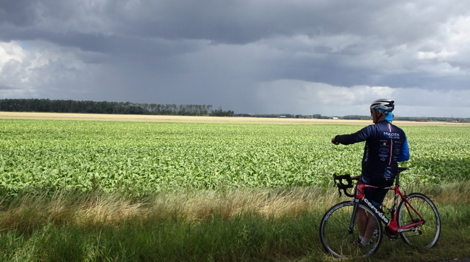 Foto's d.d. 11-08-2018 van de tocht naar Oosterwijtwerd