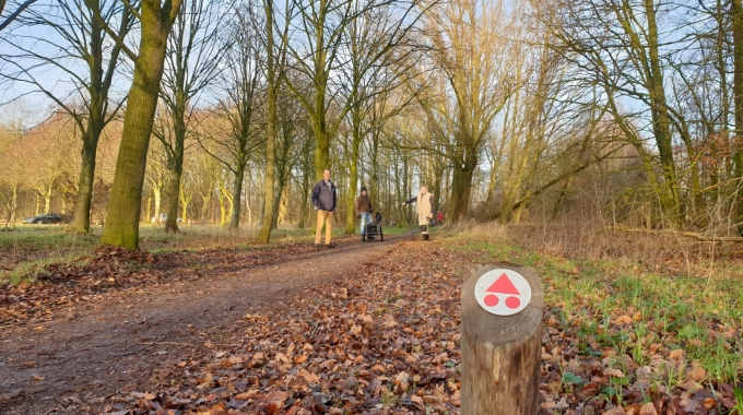 45 km Mountainbikeroute vernieuwd